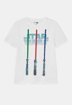 BOY STAR WARS - Print T-shirt - optic white