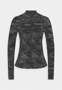 Sweaty Betty - POWER WORKOUT ZIP THROUGH JACKET - Sportovní bunda - black tonal - 5