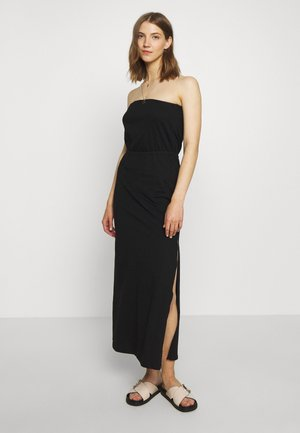 VICALINA STRAPLESS DRESS - Jersey dress - black