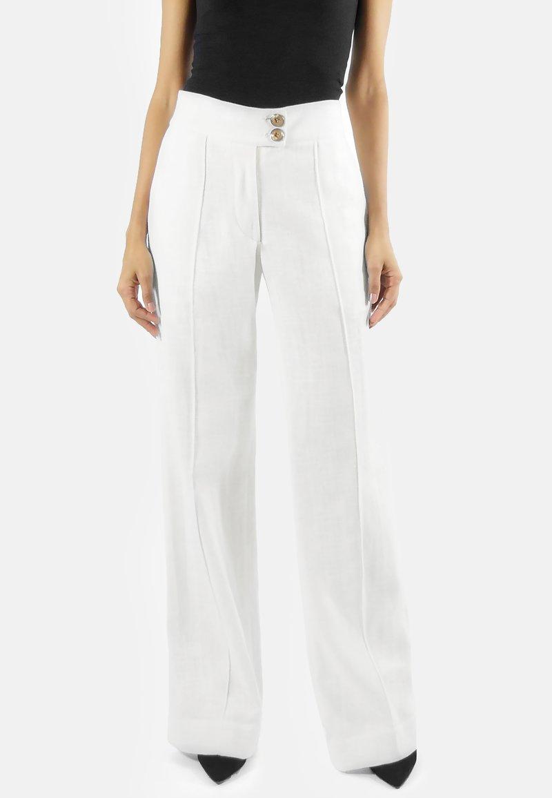 Aline Celi - MARLENE  - Trousers - white