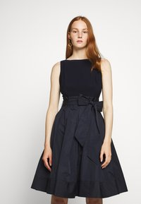 Lauren Ralph Lauren - MEMORY DRESS COMBO - Cocktail dress / Party dress - lighthouse navy - 0