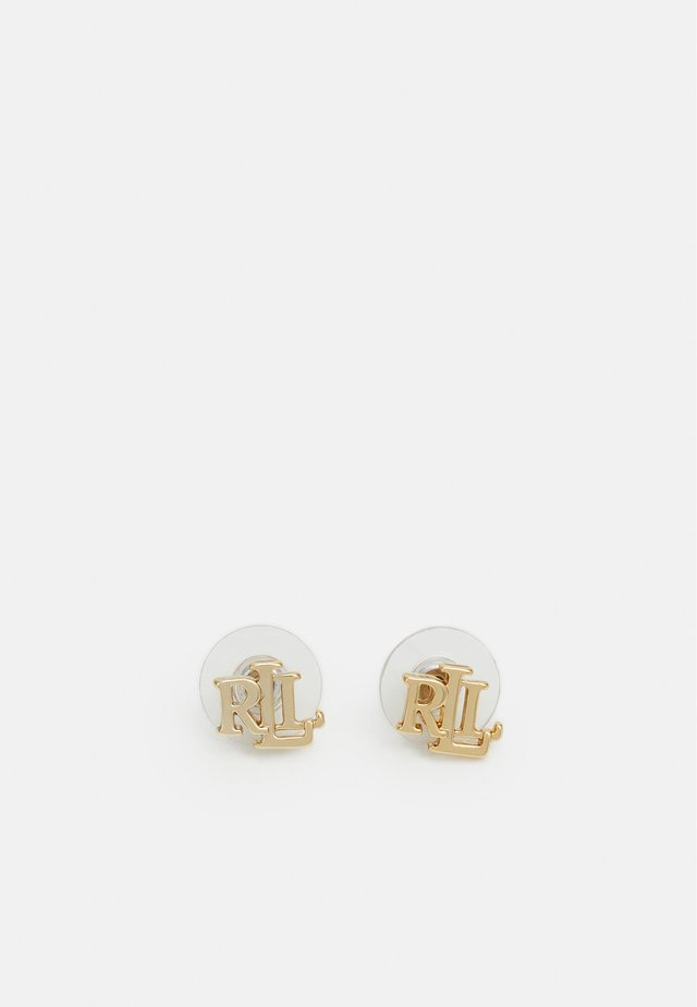 TAYLORPE LOGO STUD - Boucles d'oreilles - gold-coloured