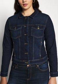 ONLY Carmakoma - CARWESPA LIFE JACKET - Denim jacket - dark blue denim - 5
