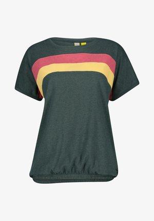 DINAAK  - Print T-shirt - dark forrest