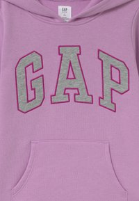 GAP - GIRLS LOGO - Mikina s kapucí - purple rose - 2