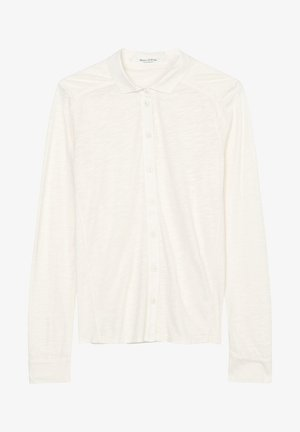 Button-down blouse - shaded sand