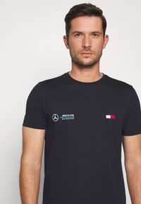 Tommy Hilfiger Tailored - TOMMY X MERCEDES-BENZ - T-shirt basic - blue - 4