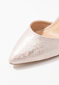 Wallis - CORDELIA - Classic heels - pink metallic - 2