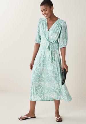 V NECK  - Day dress - teal
