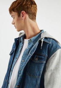 PULL&BEAR - Denim jacket - light-blue denim - 4
