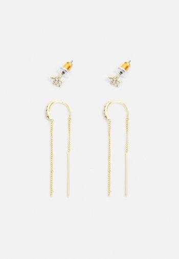EARRINGS REBECCA 2 PACK - Earrings - gold-coloured