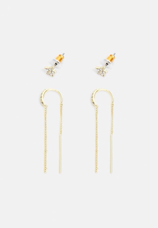 EARRINGS REBECCA 2 PACK - Korvakorut - gold-coloured