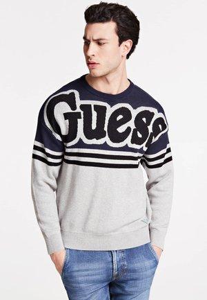 JACQUARD - Sweter - mehrfarbig grau