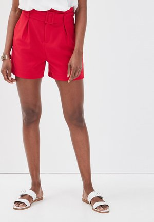 Shorts - coral red