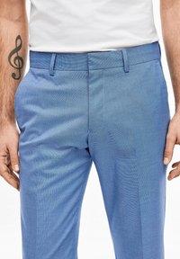 s.Oliver BLACK LABEL - Suit trousers - blue - 4