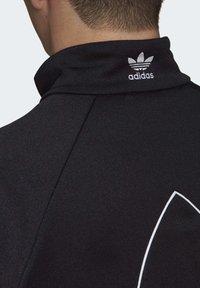 adidas Originals - BIG TREFOIL OUTLINE TRACK TOP - Training jacket - black - 7