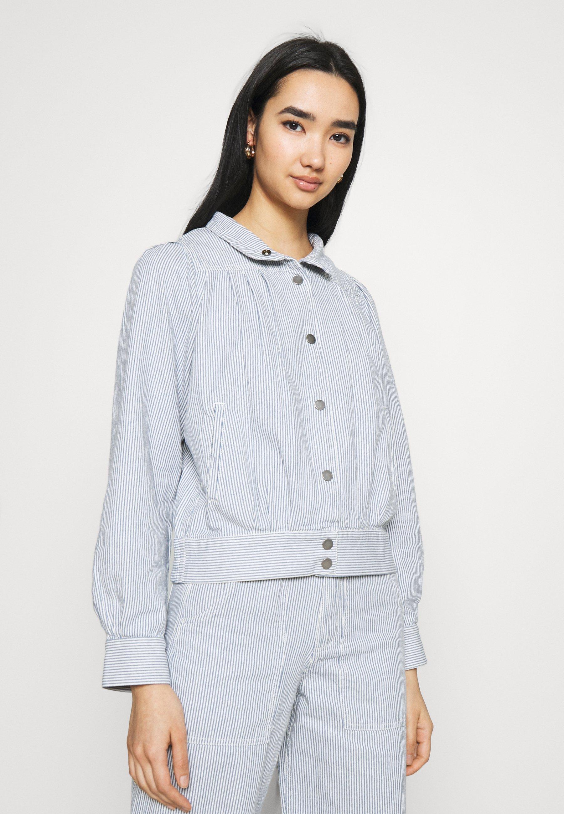 Women JACKET JUNGBY THIN STRIPE - Summer jacket