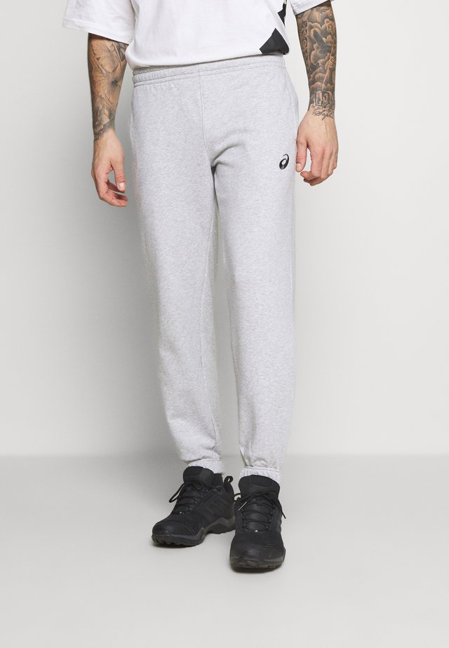 SMALL LOGO PANT - Tracksuit bottoms - mid grey heather
