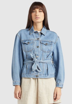 SHANE - Veste en jean - blue denim