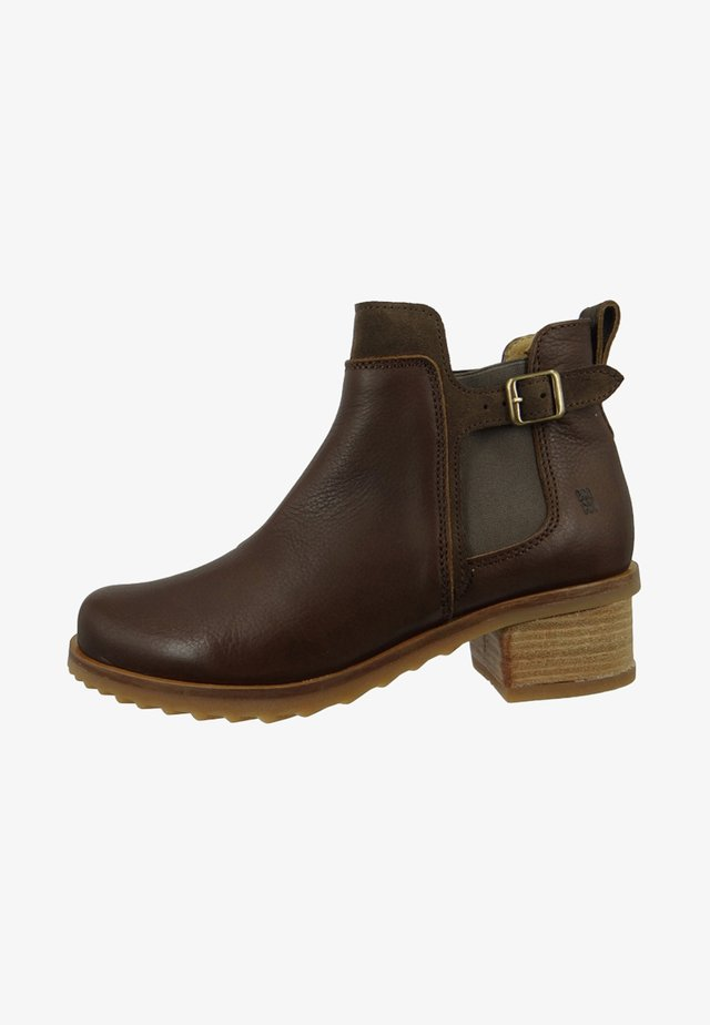 DAMEN  - Classic ankle boots - brown