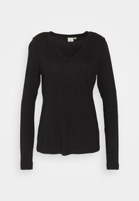 NAIA LONG SLEEVE  - Maglietta a manica lunga - pitch black