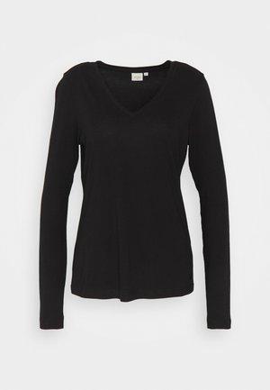 NAIA LONG SLEEVE  - Long sleeved top - pitch black