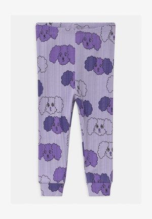 FLUFFY DOG UNISEX - Leggings - Trousers - purple