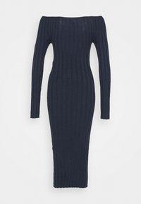 YAS - YASVERONICA MIDI DRESS - Shift dress - navy blazer - 1