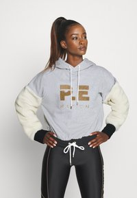 P.E Nation - DRIVE FORCE HOODIE - Hoodie - grey - 0