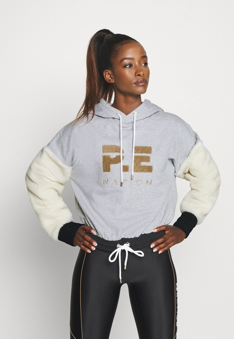 P.E Nation - DRIVE FORCE HOODIE - Hoodie - grey