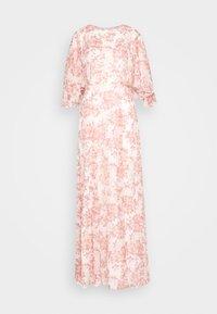 Lauren Ralph Lauren - PRINTED CRINKLE LONG - Occasion wear - colonial cream/pink - 6