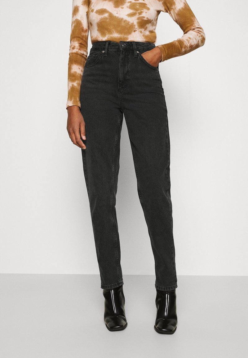 BDG Urban Outfitters - SUSTAINABLE MOM - Relaxed fit jeans - black