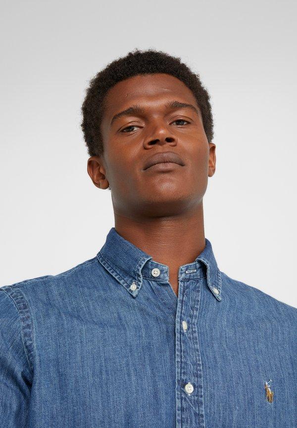 Polo Ralph Lauren Koszula - dark blue/granatowy Odzież Męska PNOW