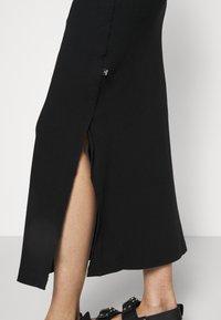 Holzweiler - HIDRA DRESS - Jersey dress - black - 6