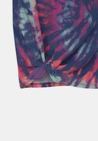 Abercrombie & Fitch - T-shirt print - blue - 2