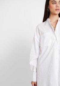 Topshop - OVERSIZED - Button-down blouse - white - 3