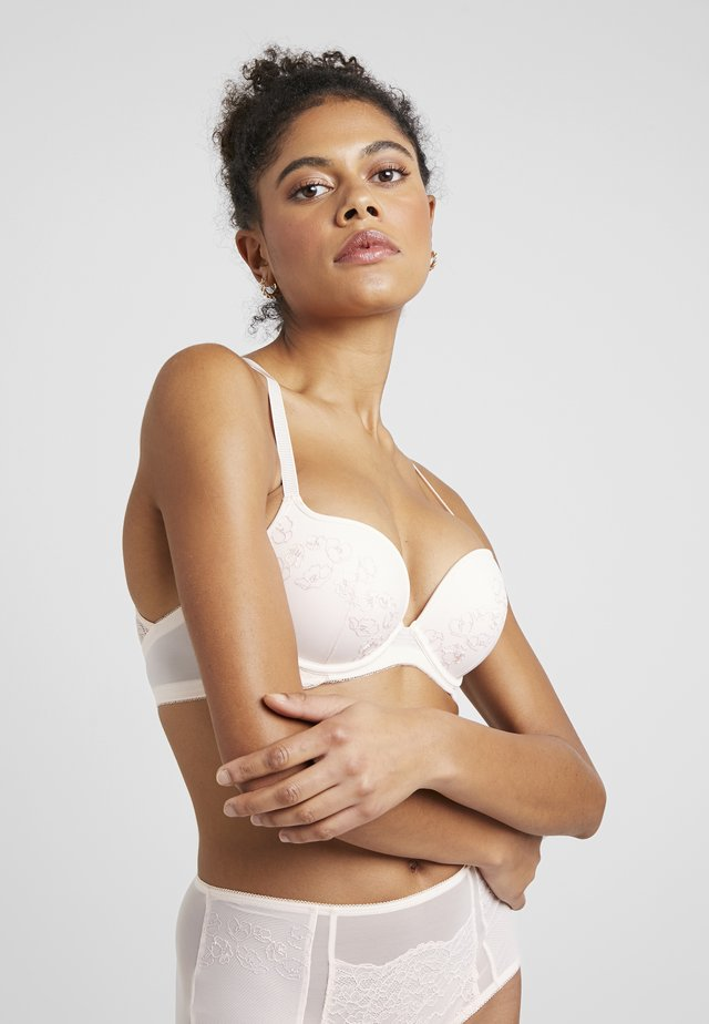 COLLABORATION POLY HOPE BRA - Soutien-gorge push-up - pink light combination