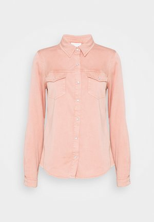 VIBISTA - Button-down blouse - misty rose