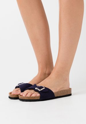SLIDES - Slippers - navy