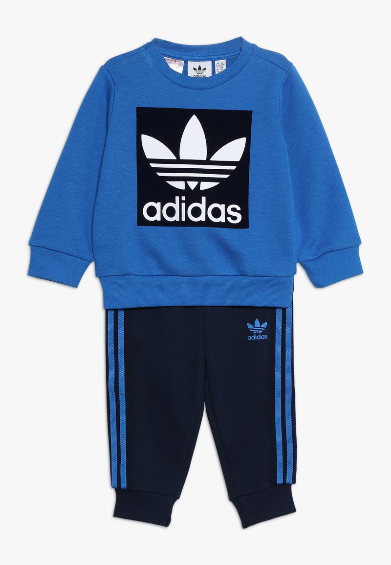 adidas Originals - CREW SET - Treningsdress - blue/collegiate navy/white