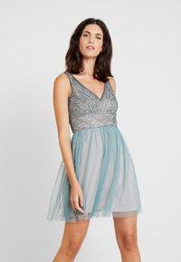 Lace & Beads - NUMULAN MINI - Cocktail dress / Party dress - teal - 0