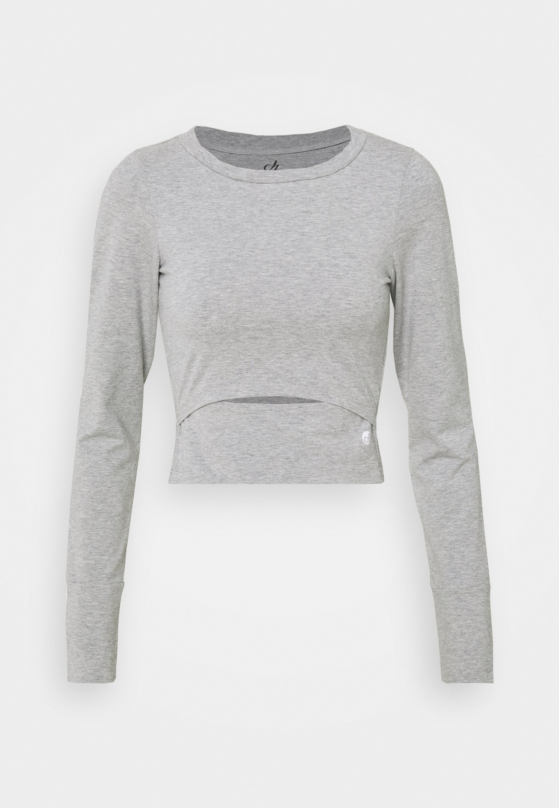 Women STRETCH CROP - Long sleeved top