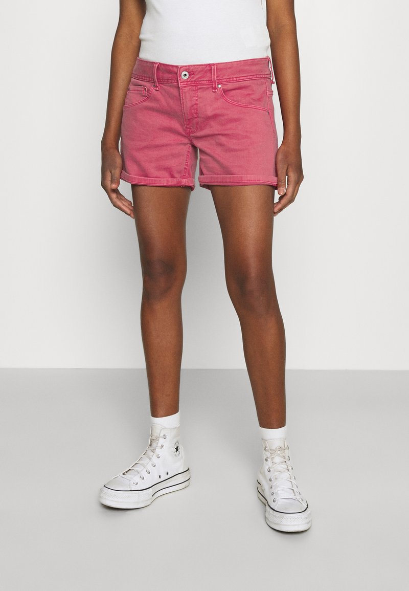 Pepe Jeans - SIOUXIE - Jeansshorts - dark chicle