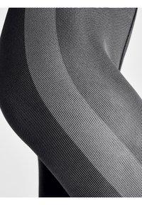 Wolford - ROBIN  - Leggings - Stockings - black/ash - 2