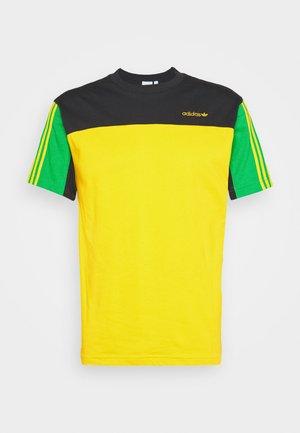 CLASSICS TEE - Print T-shirt - actgol/black