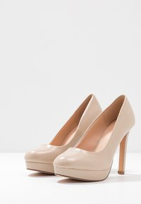 Even&Odd Wide Fit - High Heel Pumps - nude - 4
