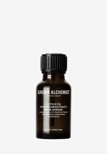 CUTICLE OIL HYPERICUM EXTRACT, NEEM, BORAGE - Nail treatment - -