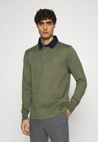 GANT - THE ORIGINAL HEAVY RUGGER - Polo shirt - dark green - 0