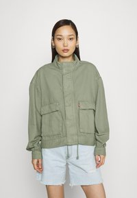 Levi's® - SURPLUS UTILITY JACKET - Denim jacket - sea spray - 0
