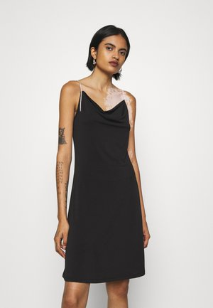 VMBLAIR SINGLET SHORT DRESS - Cocktailkjole - black